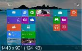 Microsoft Windows 8.1 Pro 6.3.9477 х64 (CN/ENG/RUS/2013)
