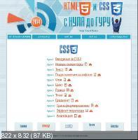 HTML5 и CSS3 с Нуля до Гуру (2014)
