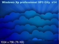 Windows Xp professional City SP3 v14 (2014/RUS/x86)