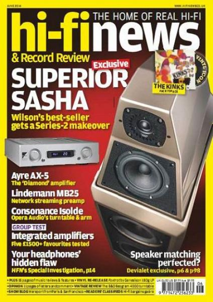 Hi-Fi News & Record Review - June [2014]