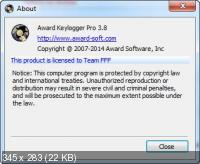 Award Keylogger Pro 3.8