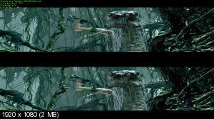 Тарзан 3Д / Tarzan 3D  ( by Ash61) Вертикальная анаморфная