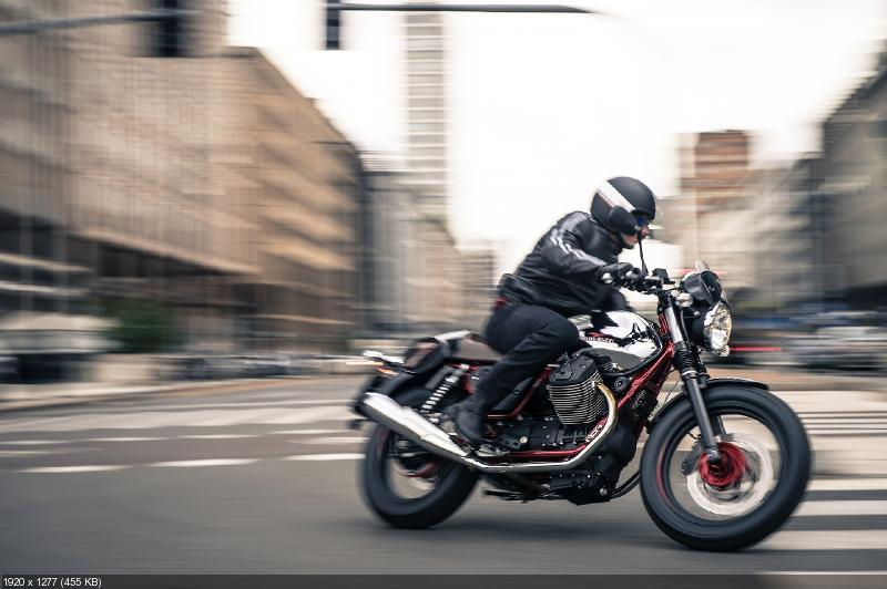 Качественные фотографии мотоциклов Moto Guzzi V7 2014: V7 Racer, V7 Special и V7 Stone