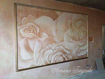Декоративное оформление стен  E6ef1af278b0cfa7a29d08ae253b6814