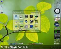 Windows 7 SP1 Ultimate x64 6.1.7601.17514 Service Pack 1 Сборка 7601 New Look Spring by Qmax